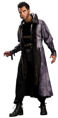 Lycan Coat Werewolf Vampire Blade Trench Fancy Dress Up Halloween Adult Costume (Blade Vampir Kostüme)