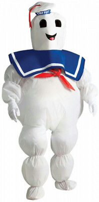 Ghostbusters: Inflatable Stay Puft Marshmallow Man Child Costume](Marshmallow Man Costume Kids)