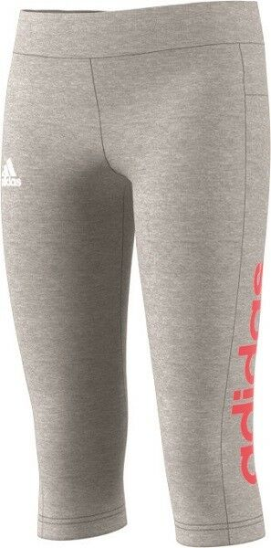 aa13c8f84bb936 ADIDAS Kinder Essentials Linear 3 4 Tight Sporthose Clima Training Core  CF7264