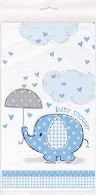 Boys Blue Elephant Table Cover 54