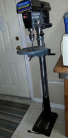 """13"""" Floor Drill Press with Dual Laser Guide System"""