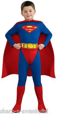 Jungen Offiziell Dc Comics Superman Superheld Büchertag Kostüm Kleid - Offizielle Superman Kostüm