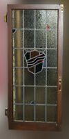 4 Custom made Stained Glass windows with fittings