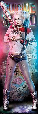 SUICIDE SQUAD - DOOR MOVIE POSTER / PRINT (HARLEY QUINN - BASEBALL BAT) - Harley Quinn Bat