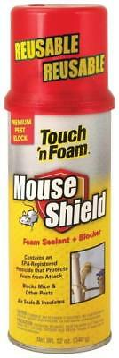 New Touch N Foam Mouse Shield Expanding Foam Spray Sealant Blocker 8043283