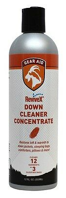Gear Aid Revivex Down Cleaner Concentrate 12oz Bottle Brand New McNett 36286