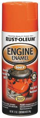 RUST-OLEUM 248941 Engine Enamel, Chevy Orange, 12 oz, Spray