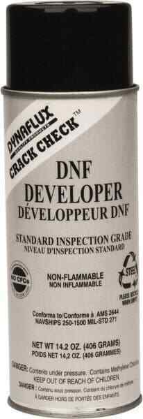 Dynaflux Crack Check DNF Developer, 14 Ounce Aerosol Can, Nonflamable