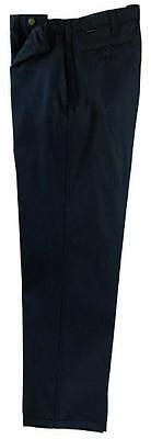 Workrite Flame-resistant 7.5 Oz Nomex Iiia Industrial Dress Pants Navy 30x32