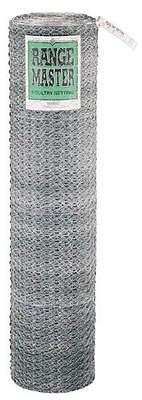 New Range Master 72x50 Ft 1 Galvanized Chicken Poultry Netting Wire 4113080