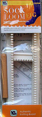 Extra Fine Gauge Sock Loom From Authentic Knitting Board  EFG  Adjustable