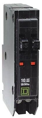 New Square D Qot1515cp Qo 1515 15 Tandem Twin Circuit Breaker 6474522