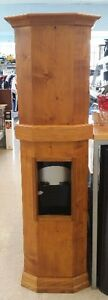 Wooden water cooler cover