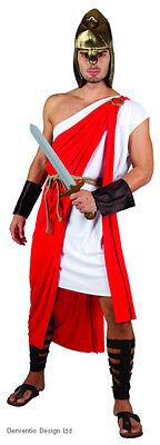 Herren Römisch Griechisch Spartaner Krieger Kostüm Schicke Verkleidung Outfit
