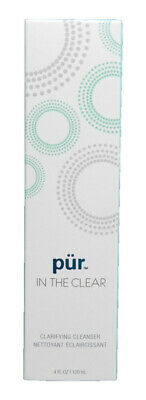 PUR MINERALS IN THE CLEAR CLARIFYING CLEANSER 4 OZ NEW IN BOX