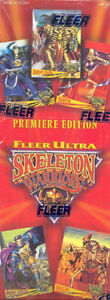 SKELETON WARRIORS ...... 1995 FLEER ULTRA ...... unopened packs