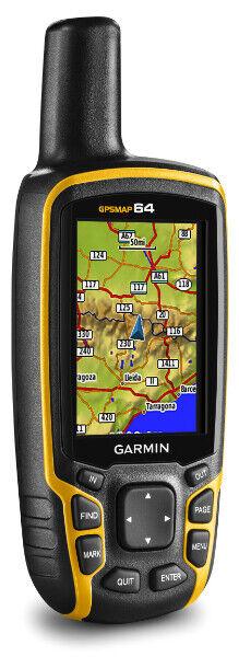 Garmin GPSMAP 64 Worldwide with High-Sensitivity GPS and GLO