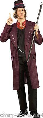 Adultes Hommes Willy Wonka Livre Jour Halloween Déguisement Costume Tenue