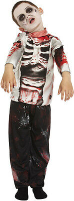 Kinder Zombie Kostüm Jungen Halloween Walking Dead Skelett Kinder - Zombie Kostüm Walking Dead