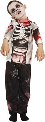 Kinder Zombie Kostüm Jungen Halloween Walking Dead Skelett Kinder Kostüm