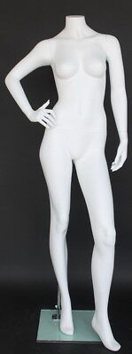 5 Ft 6 In H Female Headless Mannequin Matte White New Style Mannequin Stw110wt