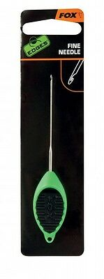 Fox Edges Micro Fine Needle grün Ködernadel für Karpfenköder Boilies & Partikel