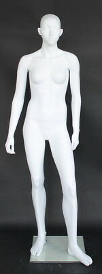 5 Ft 4 In H Teenage Girl Junior Small Size Full Size Mannequin White Cf17wt