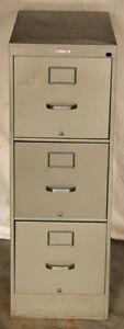 Steel Three Drawer Filing Cabinet