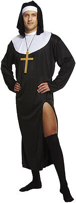 MENS NAUGHTY NUN SISTER ACT FANCY DRESS COSTUME OUTFIT  PARTY STAG DOO - Naughty Nun Outfit