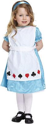 Childs Alice In Wonderland Toddler Book Week Fancy Dress Costume Age 3 P8019