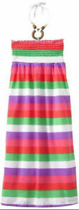 New With Tags - Size 4 Striped Cinch Top Maxi Dress