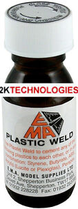 Plastruct-Plastic-Weld-PW-Liquid-Polystyrene-Cement-57ml-Bottle-UK-POST-ONLY