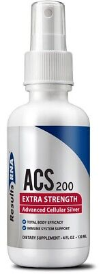 Results Rna Acs 200 Extra Strength Advanced Cellular Silver 4 Oz Free Shipping
