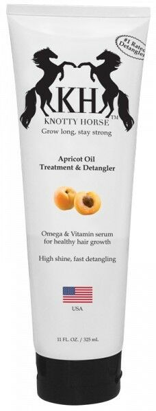 Knotty Horse Apricot Oil Detangler 11 oz