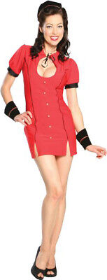 Sexy Adult Bell Hop Womens Halloween Costume Cosplay Roleplay 40s 50s 60s Small