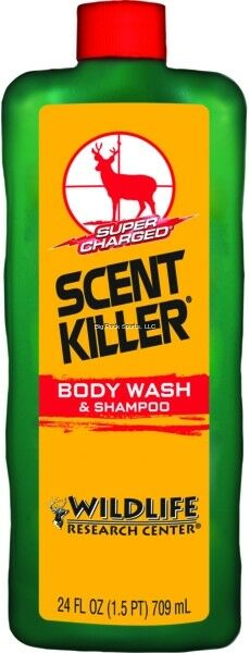 NEW! Scent Killer 540-24 Wildlife Research Scent Killer Body Wash and Shampoo