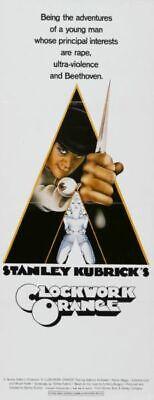 "A Clockwork Orange Poster Movie Poster Insert 14""X36"""