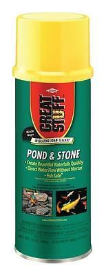 New Great Stuff 283064 Black Pond And Stone 12oz Spray Foam Insulation 3344215