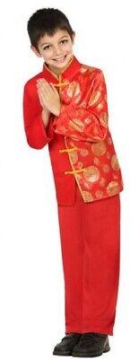 Jungen Chinesisches Neujahr aus Aller Welt Film Kostüm Kleid Outfit 3-12 Jahre