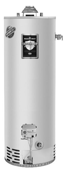 Bradford White RG250T6N 50 Gallon Tall Atmospheric Vent Water Heater Natural Gas