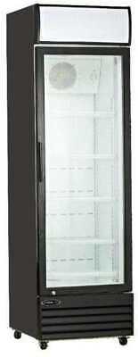 13.0cf Commercial 1-glass Door Refrigerator Display Cooler Merchandiser New