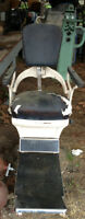 VINTAGE DENTAL SWIVEL CHAIR RITTER DENTAL MANF. - STEEL, PROJECT