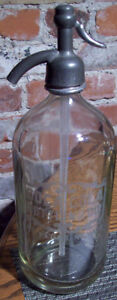 VERY RARE 1920's Coca Cola Coke Seltzer Bottle Las Vegas Rare