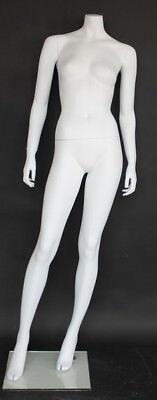 5 Ft 5 In H Female Headless Mannequin Matte White New Style Mannequin Stw010wt