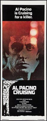 Cruising 14x36 Insert Movie Poster Al Pacino Replica