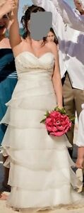 Beautiful ivory gown