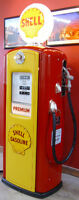 Gas Pumps;Texaco,Shell, White Rose, B/A, Red Indian, Harley,etc.