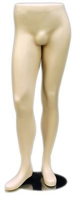 Mn-146 Fleshtone Lower Torso Male Mens Half Body Pants Mannequin Legs Form