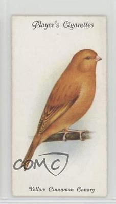 1933 Player's Aviary and Cage Birds Tobacco Base #6 Yellow Cinnamon Canary 2h8