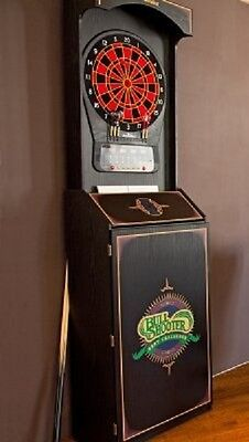 Arachnid Bull Shooter Arcade Style Electronic Dartboard Cabnet w/Cricket Pro 650
